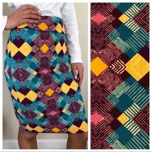 LuLaroe Cassie Skirt Small S ( 6 - 8 ) CAREER NEW